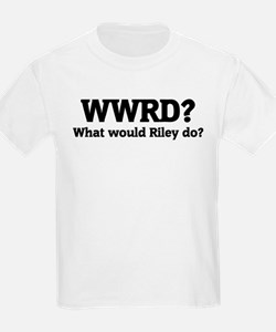 What would Riley do? Kids T-Shirt