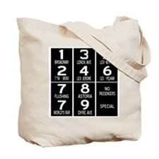 Route Number Tote Bag