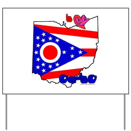 ILY Ohio Yard Sign