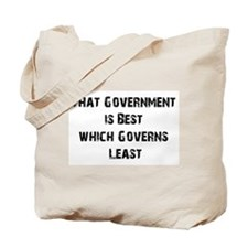 Small Government Tote Bag