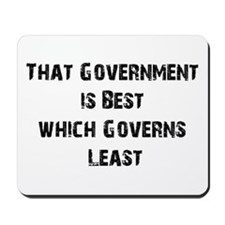 Small Government Mousepad