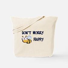 Unique Bee happy Tote Bag