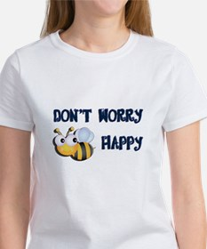 Unique Dont worry bee happy Tee