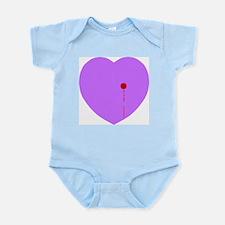 Bleeding Heart Infant Bodysuit