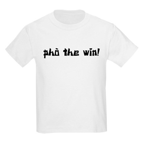 Pho The Win! Kids Light T-Shirt