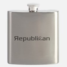 Republican Pride Flask