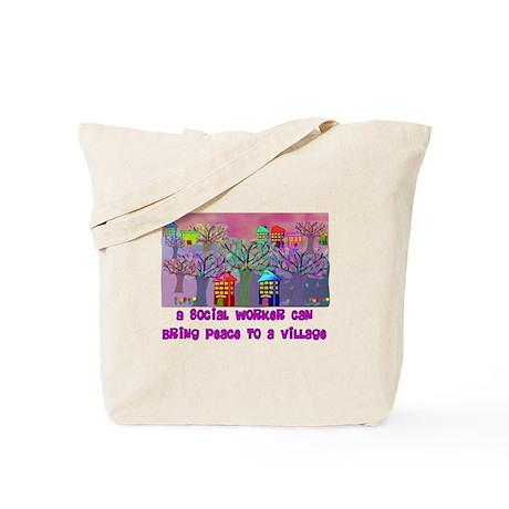 Social Worker III Tote Bag