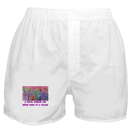 Social Worker III Boxer Shorts