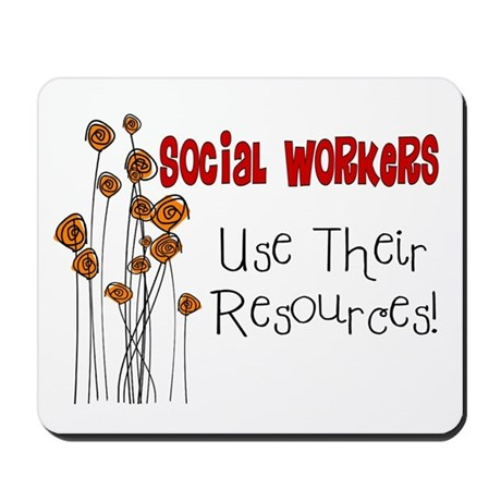 Social Worker III Mousepad