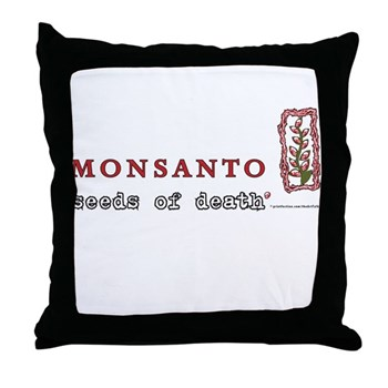 seeds of death Throw Pillow