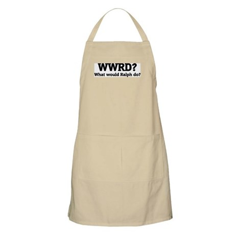 What would Ralph do? BBQ Apron