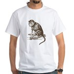 Monkey White T-Shirt