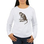 Monkey Women's Long Sleeve T-Shirt