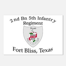2nd Bn 5th Infantry Postcards (Package of 8)