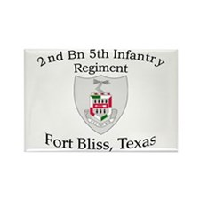 2nd Bn 5th Infantry Rectangle Magnet