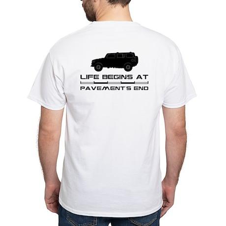 Hummer White T-Shirt