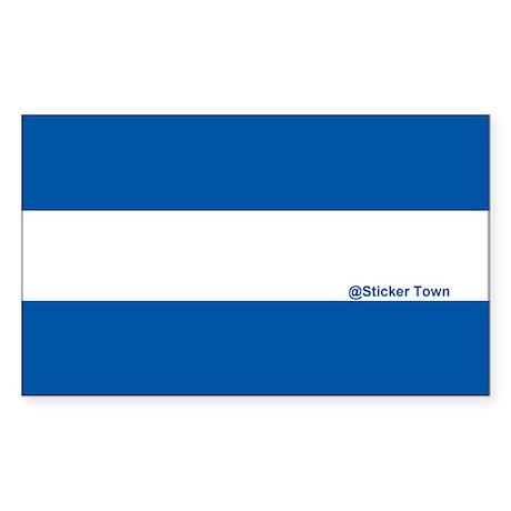 EMS - Thin White Line Sticker (Rectangle)