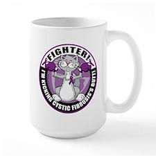 Cystic-Fibrosis Cat Fighter Mug