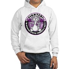 Cystic-Fibrosis Cat Fighter Hoodie