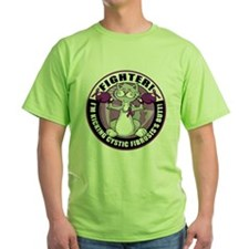 Cystic-Fibrosis Cat Fighter T-Shirt