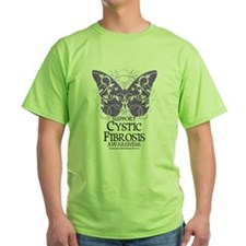 Cystic-Fibrosis Butterfly 3 T-Shirt