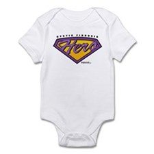 Cystic-Fibrosis Super Hero Infant Bodysuit