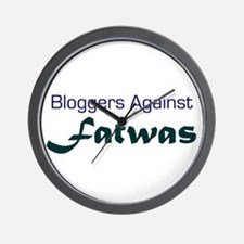 Bloggers Against Fatwas Wall Clock