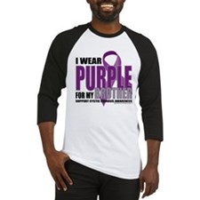 Cystic Fibrosis Purple For My Baseball Jersey