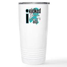 IKickedOvarianCancerAss Travel Mug