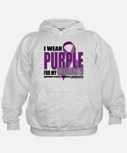 Cystic Fibrosis Purple For My Hoodie