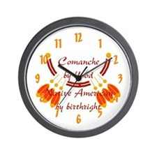 """""""Comanche"""" Wall Clock"""