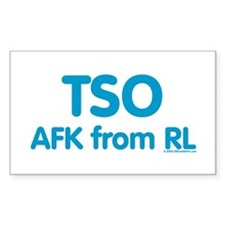 TSO AFK from RL Rectangle Decal