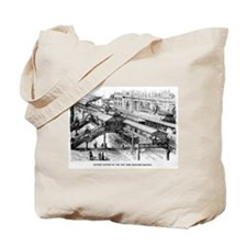 NYC- Battery Station Tote Bag