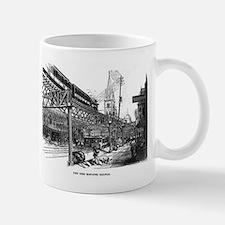 NYC- el train Mug