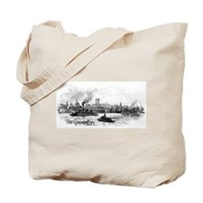 """NYC- """"the great city"""" Tote Bag"""