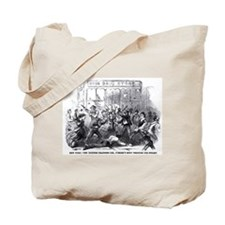 NYC riot- Union Drug Store Tote Bag