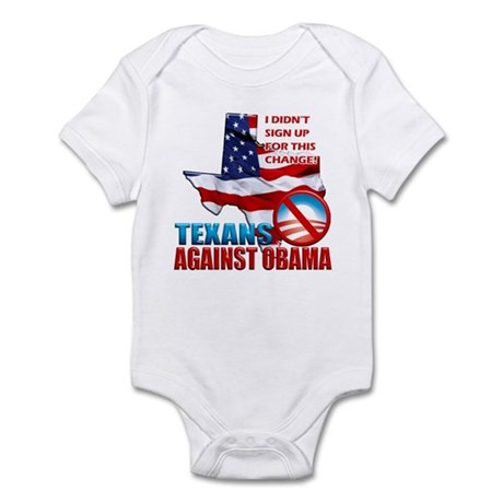 Texans Against Obama Infant Bodysuit