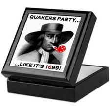 Quakers Party Keepsake Box