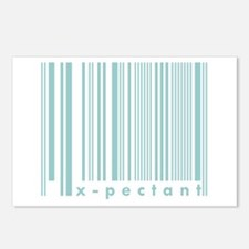 X-pectant First Time Dad New Baby Postcards (Packa