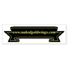 "GoldWing Shop ""www Bumper Bumper Sticker"