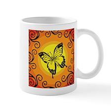 Swirly Butterfly Mug