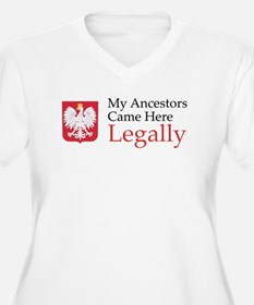 My Ancestors Came Here Legall T-Shirt
