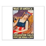 Wake Up America Poster Art Small Poster