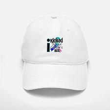 IKickedThyroidCancerAss Baseball Baseball Cap
