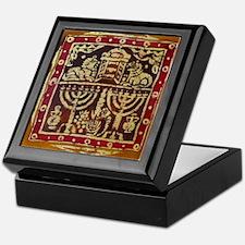 Old Jewish Symbols Keepsake Box
