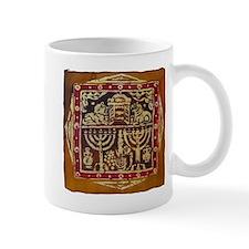 Old Jewish Symbols Mug