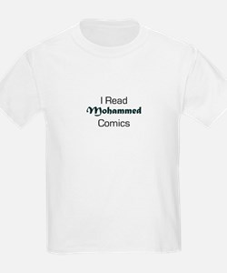 I Read Mohammed Comics Kids T-Shirt