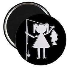 REEL GIRL Magnet