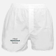 I Read Mohammed Comics Boxer Shorts