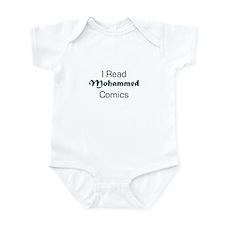 I Read Mohammed Comics Infant Creeper